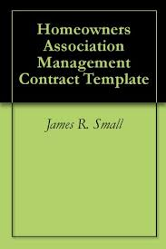 Management Contract Template Enchanting Amazon Homeowners Association Management Contract Template