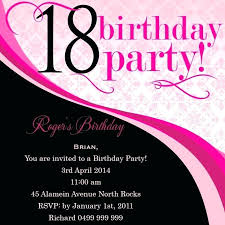 18th birthday party invitation cards invitations invites fascinating to create your own free printable template