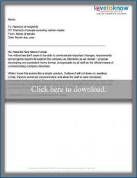 Memo Example For Business Business Memo Examples Lovetoknow