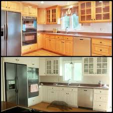 cabinet resurfacing kit new awesome before and after diy kitchen cabinet makeover what a