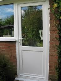 images of upvc back door with window