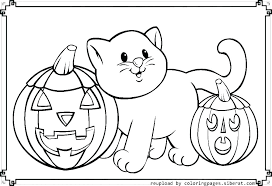 Cute Halloween Coloring Pages For Kids Halloween Color Pages Free Wamifu Co