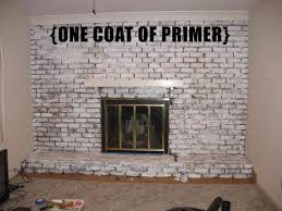 painted brick wall new can you paint over brick fireplace painting a brick fireplace