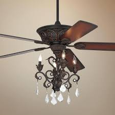 78 most blue ribbon white ceiling fan with crystal chandelier fans chandeliers casa contessaa dark