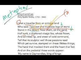 ozymandias analysis a board of poetry novels plays aqa ozymandias analysis