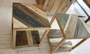 funky furniture ideas. -Viking Side Tables\u0027- Nightwood, Reincarnated Furniture, Textiles And Ineriors. Funky Furniture Ideas