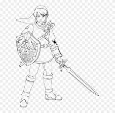 Become a epic minecraft artist with the new easy to use colouring app from fpsxgames. Master Sword Coloring Pages 5 By Erica Legend Of Zelda Link Coloring Pages Hd Png Download 609x740 791761 Pngfind