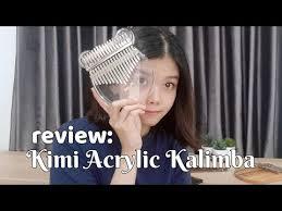 [Indonesian / Eng CC] Kimi <b>Acrylic Kalimba</b> Review!! SO PRETTY ...