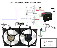 how to wire electric fans 92 97 altima zilvia net forums wire accordingly and er your connections if you have to google how to use a er gun and heatshrink stop being lazy and just so we re all clear