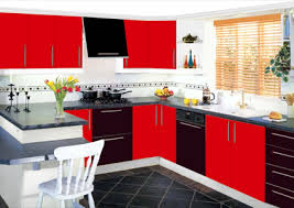 Great Red And Black Kitchen Designs Of Nifty Red And Black Kitchen Ideas Visi  Build Designs Gallery