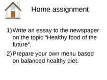 "best food images learn english th grade  home assignment write an essay to the newspaper on the topic ""healthy food of"