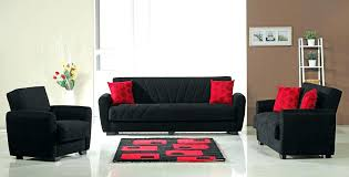 Red and black furniture Black Fabric Sofa Red Interiorcharm Red Leather Living Room Sets Red Couch Sets Sunset Modern Fabric Red
