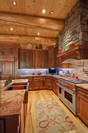 log home kitchen design elegant best 25 log cabin kitchens ideas
