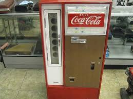 Coke Vending Machine Models New VINTAGE COCACOLA COKE Vending Machine Vendo Company Model No Ha48C