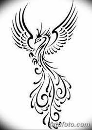 фото тату птица феникс 18072019 014 Phoenix Bird Tattoo