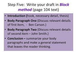 five steps essay writing the step writing process from criminal justice writing style