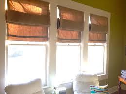 DIY Burlap Roman Shades  Quaint In QuincyBurlap Window Blinds