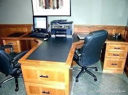 elegant office. Elegant Office Desk For Two Station In 2 Person Plans Corner Pl