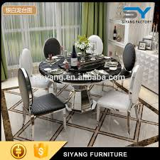 european dining furniture. classic european style marble dining table set ct012 furniture