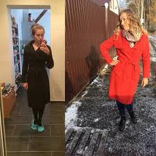 zaful 2016 winter coat women wide lapel belt pocket wool blend coat oversize long red trench