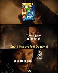 Season 11 is god awful: Ninjago