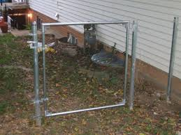 full size of inch chain link fence gate hardware diynewbies how to build base post extension