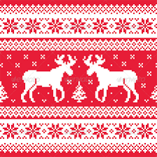 christmas sweater print background. Brilliant Christmas Christmas And Winter Knitted Pattern With Reindeer And Sweater Print Background E