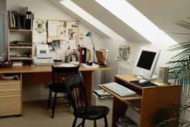 how to organize home office. In A Small Home Office, Placing The Desks On Three Of Room\u0027s Walls Is How To Organize Office O