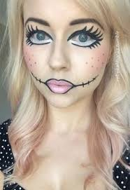 check out doll face makeup ideas of these are a lot easier and you can imitate any of them by yourself