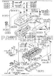 1010d cylinder head cover 4000cc 4600cc 01 02