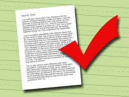 writing recommendation letter how to write a letter of recommendation 14 steps with pictures