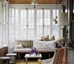 Rustic decorating ideas for your front porch or sun porch.