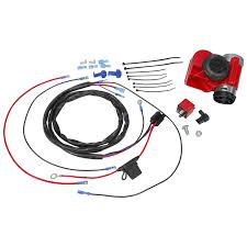 139db stebel nautilus compact red car air horn kit incl relay relay wiring harness very click to enlarge