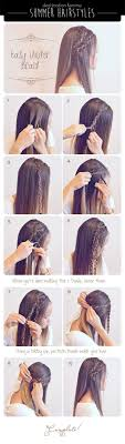 Easy Braided Updos For Straight Hair