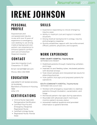 Nursing Resume Template 2017 Resume Builder
