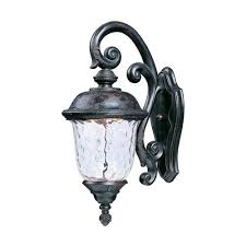 maxim lighting international carriage house led oriental bronze one light twelve inch outdoor wall