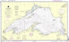 Lake Superior Depth Chart Noaa Nautical Chart 14961 Lake Superior In 2019 Nautical