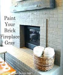 cleaning fireplace brick clean brick fireplace brick fireplace cleaning parade of homes home tour painted brick