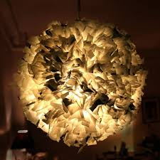 ... Plastic bag pendants DIY