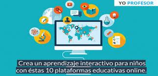 Material interactivo digital para todo el ciclo escolar (más de 150 actividades por grado), no necesitan internet internet ni.hay material desde. Crea Un Aprendizaje Interactivo Para Ninos Con Estas 10 Plataformas Educativas Online Instituto De Tecnologias Para Docentes Yo Profesor