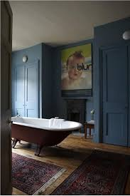 A Bathroom Beauteous A Bathroom With Walls And Doors In Stone Blue Estate Emulsion