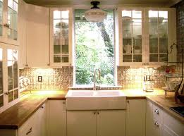 spacious small kitchen design. Home Small Kitchen Appliances Arranged Neatly In A Tiny But Seemed Spacious And Flexible With Design