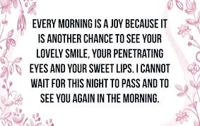 Good Morning Love Quotes For Her Text Image Quotes Quotereel
