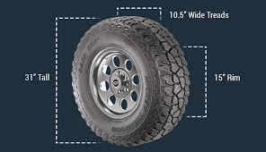 Tire Size Calculator Quadratec