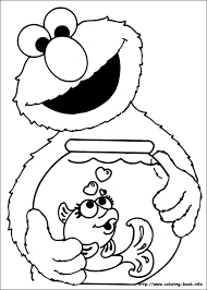 Small Picture Printable Coloring Pages Elmo Coloring Pages