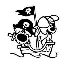 Woezel En Pip Piraat Taarten Piraten Kleurplaten En Silhouet Cameo