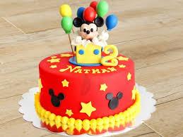 Mickey Theme Cake 1 Mickey Magic Cake Bakingo