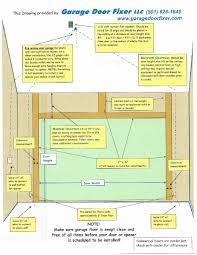 Framing Out A Garage Door Opening Wageuzi 16 Foot Garage Door