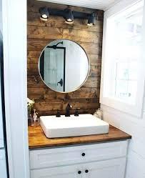 wood wall bathroom stained wood walls behind the bathroom sink and bedroom loft add warm touches wood wall bathroom rustic bathrooms with stone walls