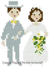 Wedding Cross Stitch Patterns Gorgeous Perrette Samouiloff The Wedding Large Pattern Cross Stitch